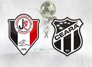 Em confronto direto, Ceará e Joinville duelam por vaga no G-4