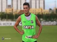 """Juninho: """"Cheguei aqui querendo ser campeão para fazer história no Ceará"""""""