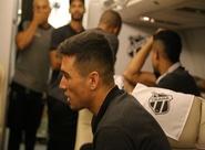 Ceará embarca rumo a Curitiba, onde enfrenta o Atlético/PR nesse fim de semana
