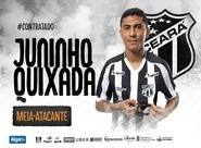 Ceará acerta a contratação do meia Juninho Quixadá