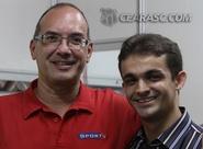 Homenageado pelo torcedor alvinegro, Lédio Carmona agradece