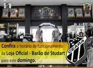 Confira o horário de funcionamento da Loja Oficial da Barão de Studart para domingo