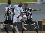 Contra o Londrina, Ceará sai atrás, empata com Elton, mas sofre revés no fim do jogo