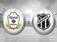 Em jogo inédito, Ceará busca recuperação diante do Macaé