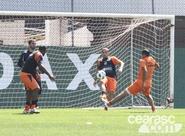 Ceará treinou nesta manhã, em São Paulo