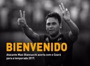 Argentino Maxi Biancucchi assina com o Ceará até o final de 2017