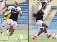 Recuperados, Mazola e Buiú podem voltar a campo diante do ABC
