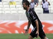 """Na comemoração do gol diante do Sport, Mota extravasa: """"Amo esse time"""""""