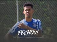 Volante Naldo assina contrato e jogará pelo Ceará na temporada 2018