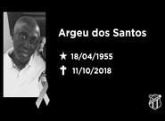 Nota de pesar: Argeu dos Santos