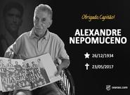 Nota de pesar: Alexandre Nepomuceno
