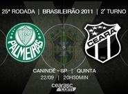 Jogando em São Paulo/SP, Ceará busca vitória inédita diante do Palmeiras