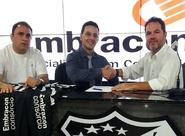 Parceria entre Consórcio Embracon e Ceará foi renovada nesta tarde