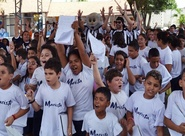"""""""Vovô vai à escola"""" visitou Escola Marista do Sagrado Coração de Jesus"""