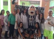 Lar Torres de Melo recebe visita especial de projetos do Ceará S.C