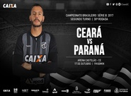 Em confronto direto, Ceará e Paraná se enfrentam na Arena Castelão
