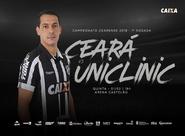 Contra o Uniclinic, Vovô busca reabilitação no Campeonato Cearense