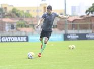 Ceará se reapresenta e realiza último treino antes de viagem para o Rio de Janeiro