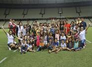 Ceará realiza ação com crianças e adolescentes do Abrigo Cristo Rei