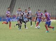 Copa do NE: No primeiro jogo da semifinal, Ceará perde para o Bahia no Castelão