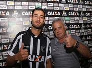 Apresentado à imprensa, zagueiro Bruno Pires elogia estrutura do Clube
