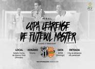 Ceará e Maguary se enfrentam pela final da Copa Cearense Master