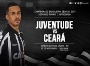 Contra o Juventude, Ceará quer manter sequência invicta na Série B