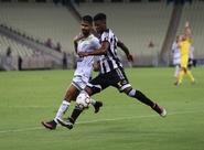 Ceará abre o placar com Rafael Carioca, mas leva empate no 2º tempo