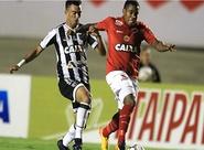 No Serra Dourada, Ceará sai atrás, mas domina 2º tempo e arranca empate com Roberto
