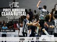 Futsal Adulto: Ceará encerra preparação para o segundo jogo da semifinal do Campeonato Cearense