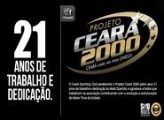 Projeto Ceará 2000 comemora 21 anos desde a sua fundação
