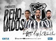 Quixadá, Tiago Alves e Ricardinho permanecem, no Vozão, para 2019
