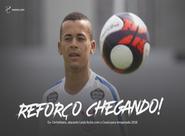 Ex-Corinthians, atacante Luidy fecha com o Ceará para a temporada 2018