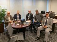 Ceará e Fortaleza se reúnem na CBF com presidente da Comissão Nacional de Arbitragem