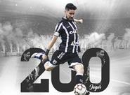 Contra o Luverdense, Ricardinho completará 200 jogos pelo Vozão