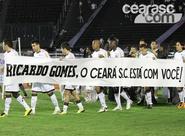Ceará entra na corrente de força pelo técnico Ricardo Gomes