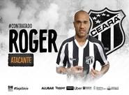 Fechou! Atacante Roger reforça o Ceará para a temporada 2019