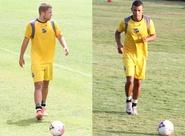 Recuperados, Romário e Leandro Chaves iniciam treinos com bola