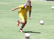 Atacante Romário voltou aos treinamentos nesta tarde