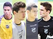Alvinegro Cearense acerta a saída de mais quatro jogadores