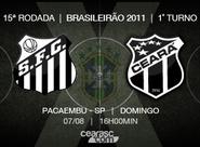 De olho no Santos, Ceará embarca para São Paulo/SP