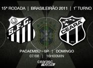 Ceará enfrenta o Santos no Pacaembu