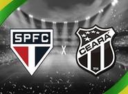 No jogo de ida das oitavas, Ceará encara o São Paulo, no Morumbi