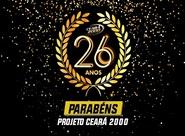Projeto Ceará 2000 celebra 26 anos de sua fundação