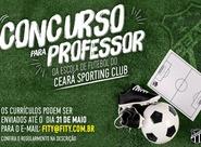 Em parceria com a Fity, Ceará seleciona professor para escolinha do clube