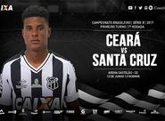 Série B: Na busca pelo G4, Ceará recebe o Santa Cruz no Castelão
