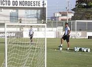 Sérgio Soares comandou treinamento na manhã deste sábado (13/08)