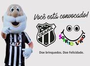Ceará e Sorriso Largo promovem ação para arrecadação de brinquedos