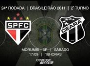 Ceará viaja para encarar São Paulo e Palmeiras