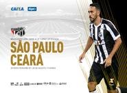 No Morumbi, Ceará encara o líder São Paulo pelo Campeonato Brasileiro